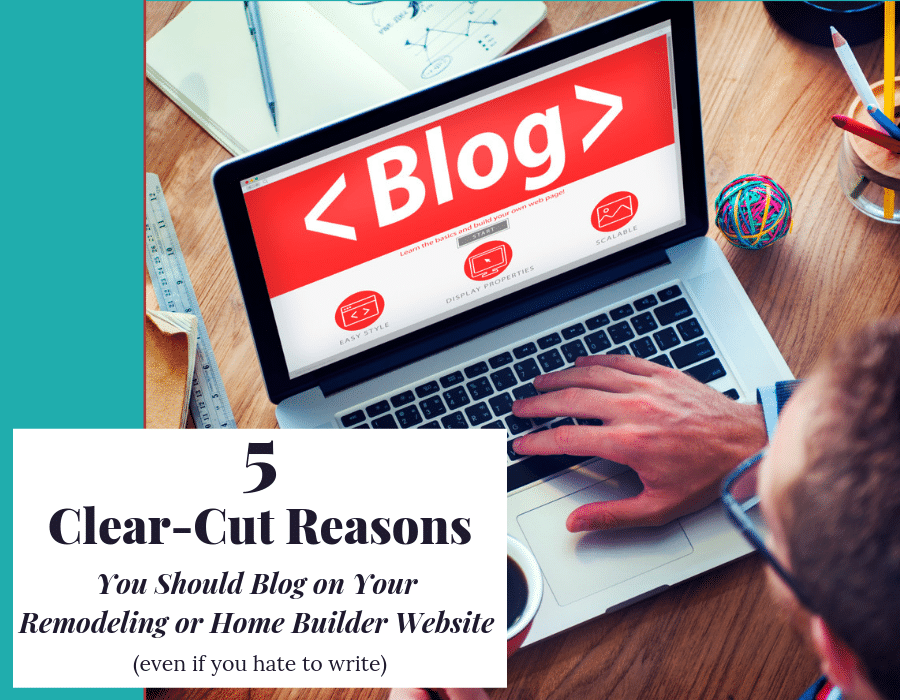 Clear cut reasons you should start blogging on your website | Innovate Building Solutions | Innovate Builders Blog | #BuildingMaterials #PowerTipsUnscripted #WebsiteBlogs