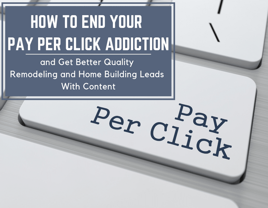 End you pay per click addiction and get quality leads | Innovate Building Solutions | #PayPerClick #MarketingTips #QualityLeads