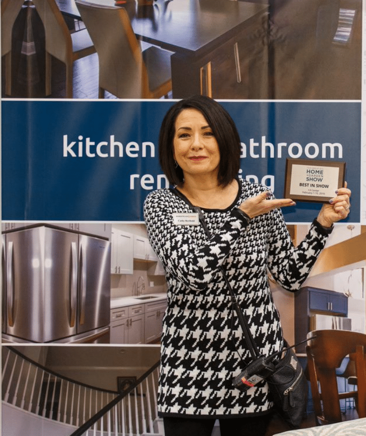 Cathy Berthold of MarketPlace Events at a Cleveland Trade Show | Innovate Building Solutions | Innovate Builders Blog | #CathyBerthold #RemodelingTips #TradeShowTips #HomeShowAdvice