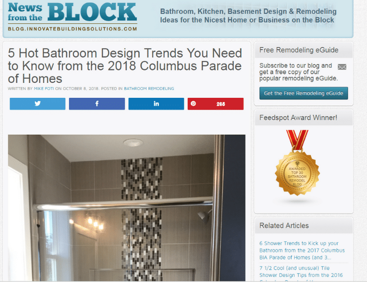 Trade show blog post for a remodeling business | Innovate Building Solutions | Innovate Builders Blog | #Bloggingtips #RemodelingTips #TradeShowAdvice #RemodelingShows
