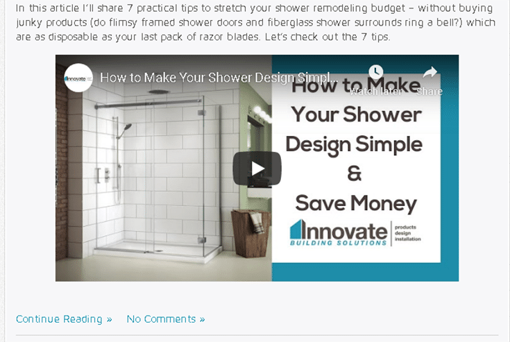 Using videos for remodeling site | Innovate Building Solutions | Innovate Builders Blog | #RemodelingIdeas #MarketingTips #RemodelingVideos #BusinessVideos