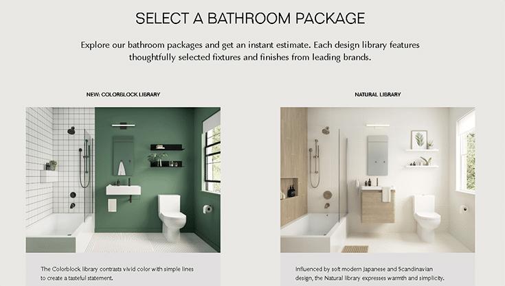Block Renovation Bathroom Remodeling Packages www.blockrenovation.com   Innovate Building Solutions   Innovate Builders Blog   #BathroomRemodel #BathroomRenovations #Beforeandafter