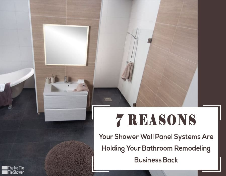 shower wall panels are holding your business back | Innovate Building Solutions | #ShowerWallPanels #BuildingProducts #BathroomWallPanels #HowToCleanGrout