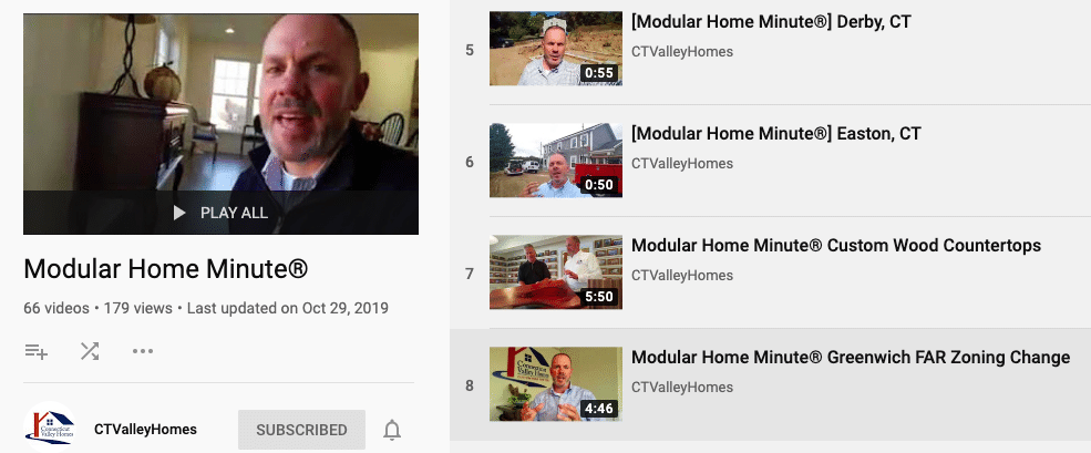 Conneticut Valley Homes Video tips creating content | Innovate Building Solutions | Innovate Builders Blog | #VideoContent #CTValleyHomes #HomeBuilding #RemodelingTips