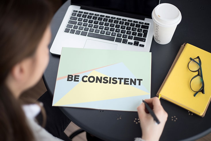 Consistency in remodeling or builders blogging is key | Innovate Building Solutions | Innovate Builders blog | #ConsistentMarketing #BloggingIdeas #BloggingTips #RemodelingBusinessIdeas