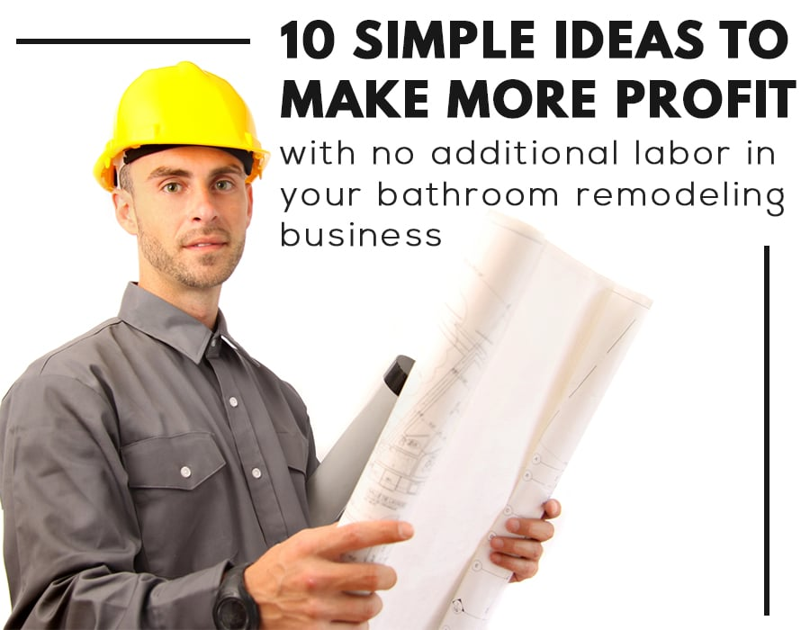 Opening Image | How to make profit in a bathroom remodeling business | Innovate Builders Blog | Innovate Building Solutions | #BuildersBlog #BathroomRemodeling #InnovativeProducts
