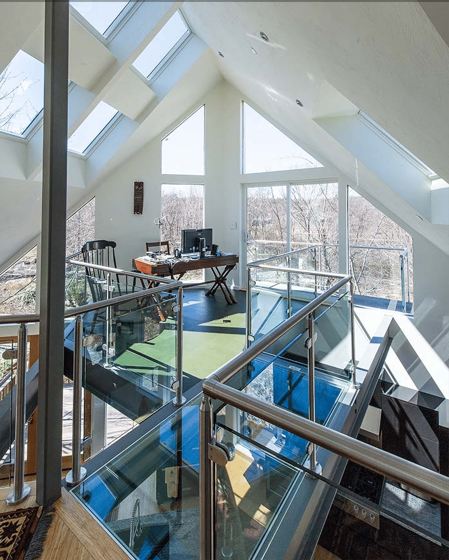 Idea 2 inspirational image of a glass flooring system on Innovate Building Solutions web site   Innovate Building Solutions   Innovate Builders Blog #InspirationalImages #GlassFlooring #Website