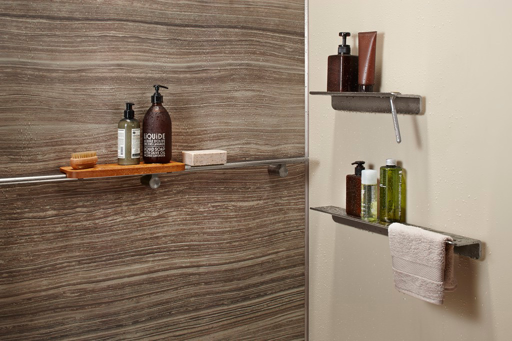 showers shelves bath shower anizer bathroom modern with