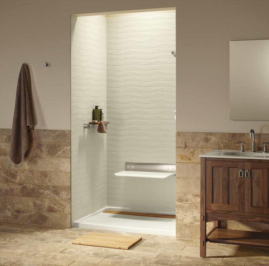 Wall Panels Bathroom: Luxury Shower Wall Panels Accessories And Storage System