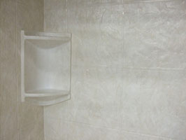 textured slate pattern acrylic shower wall panels