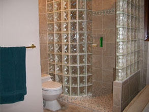 barrier free shower in indiana project