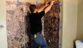 Step 2 U2013 Cut Trim Moldings To Fit And Adhere Over Edges Of Panels U2013 Since  The Trim Panels Overlap The Shower U0026 Tub Wall Panel Edges The Panel Cuts  Donu0027t ...