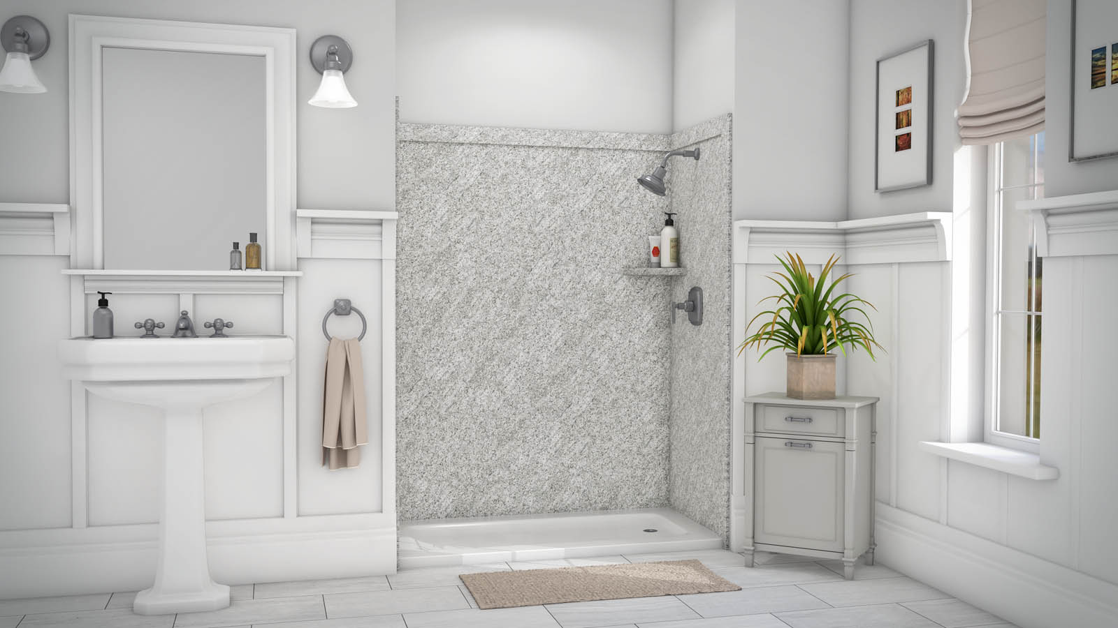 DIY Shower & Tub Wall Panels & Kits - Innovate Building ...