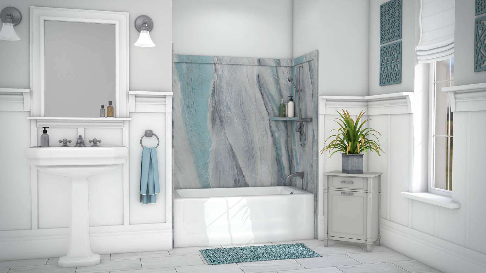 Bathroom Tub Wall Board