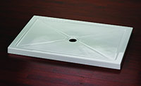 rectangular shaped shower base