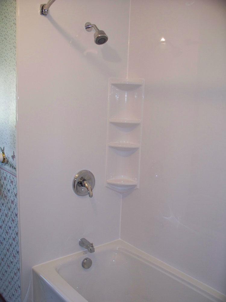 Acrylic bathtub liner enclosures near cleveland and for How to install acrylic bathtub liners