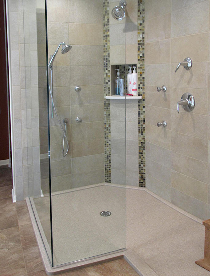 Solid Surface Shower Bases & Wall Panel Kits - Innovate ...
