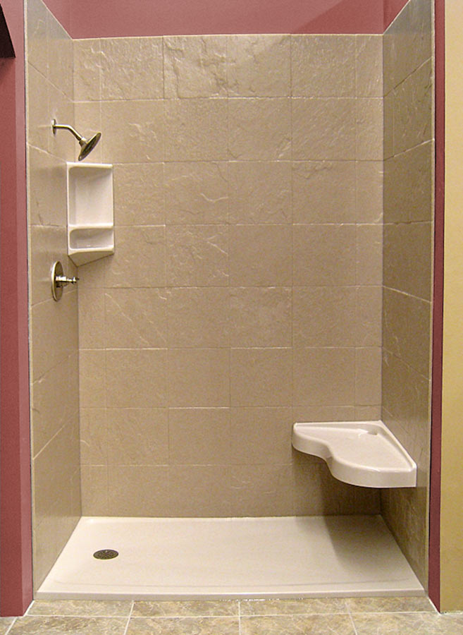Solid Surface Shower Bases Amp Wall Panel Kits Innovate