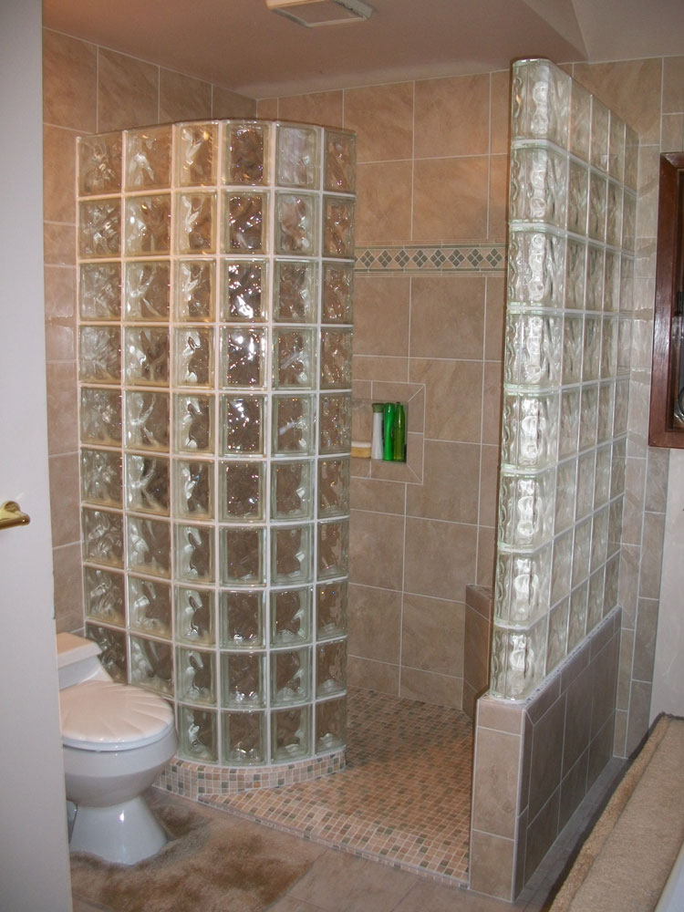 Bath Amp Shower Wall Surround With Acrylic Tile Amp Swanstone