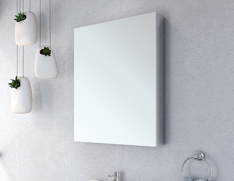 Use The Vertical Wall Space To Your Advantage U2013 If Youu0027ve Got A Small  Bathroom Your Wall Space Is A HUGE Opportunity. With A Mirrored Medicine  Cabinet You ...