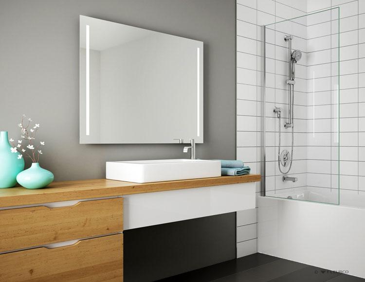 Groovy Led Lighted Bathroom Vanity Mirrors Medicine Cabinets Download Free Architecture Designs Scobabritishbridgeorg