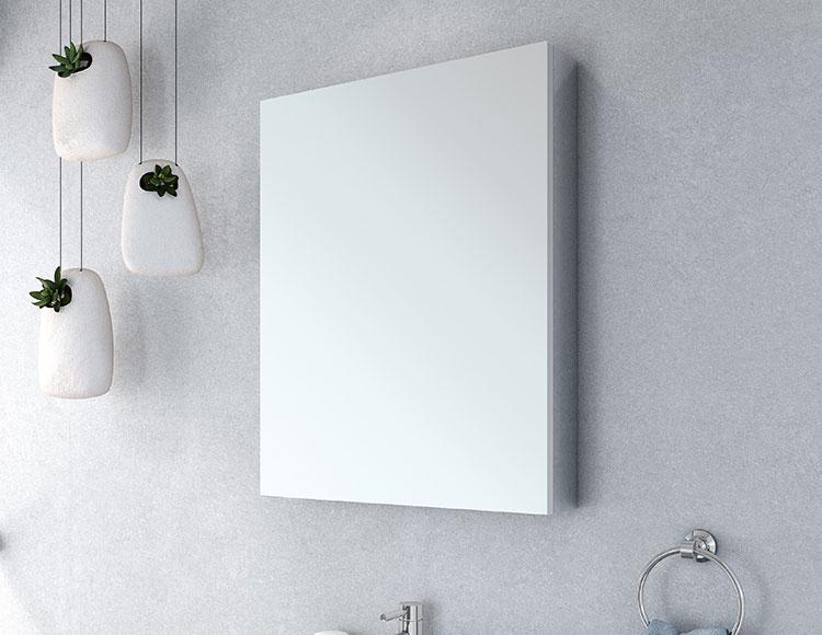 Illuminated Mirror Glass Cabinet: LED Lighted Bathroom Vanity Mirrors & Medicine Cabinets