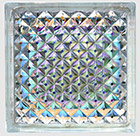 Dichroic lattice pattern