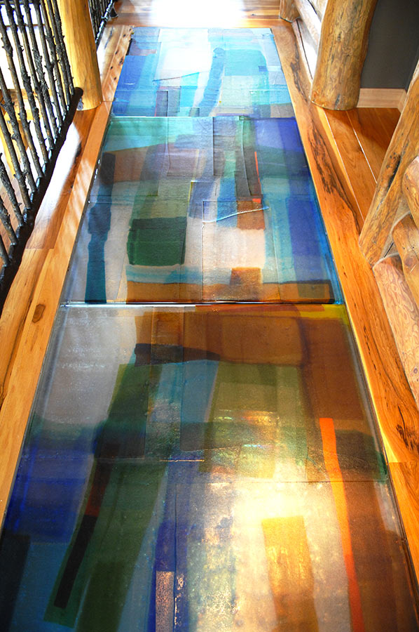 Glass Floor Panels Amp Stair Treads For Bridge Landings