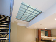 structural glass floor system