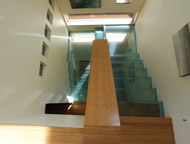 glass floor treads and stairs