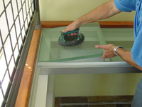 structural glass floor installation process