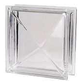 12in x 12in Pyrami 3D Glass Block