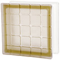 Siena colored textured mosaic glass block