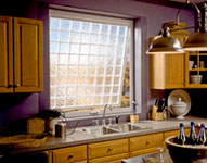 Awning style kitchen privacy window