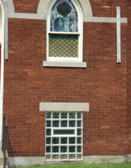 Church replaement windows for security