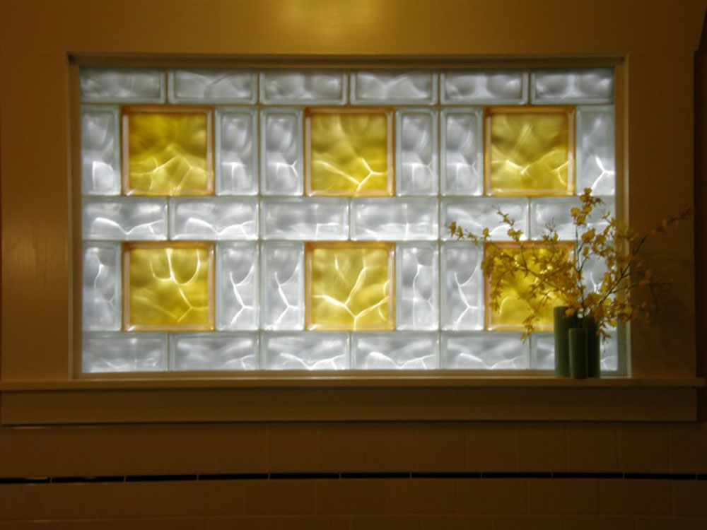 Basement bathroom garage glass block windows columbus for Glass block window bathroom