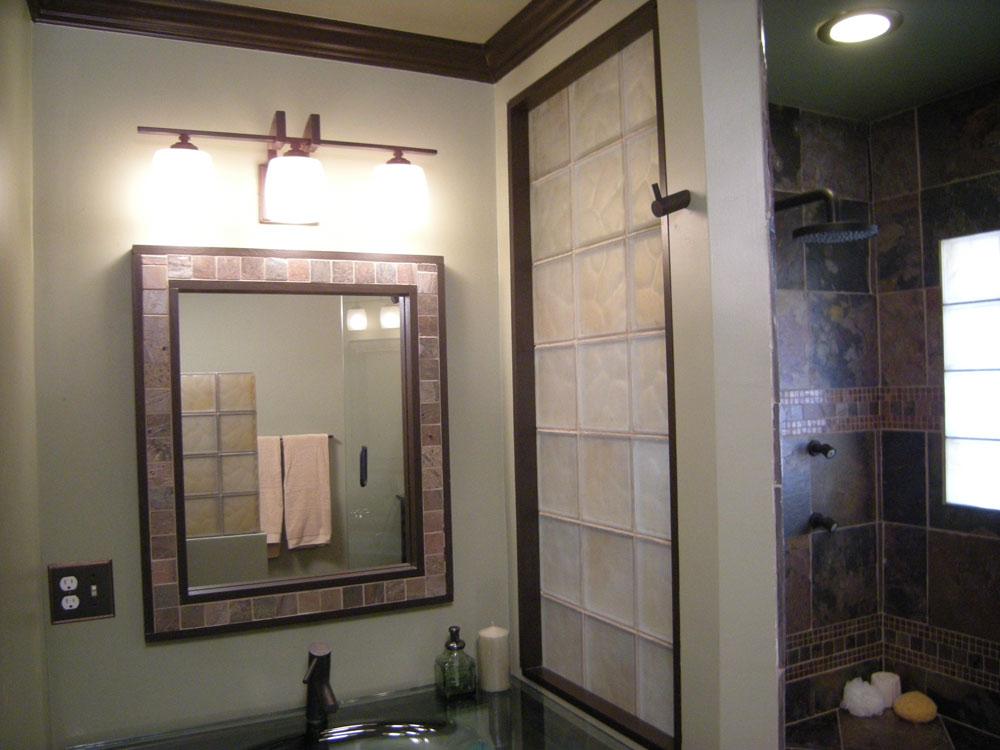 Basement bathroom garage glass block windows columbus - Bathroom showroom cleveland ohio ...