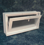 glass block air vent