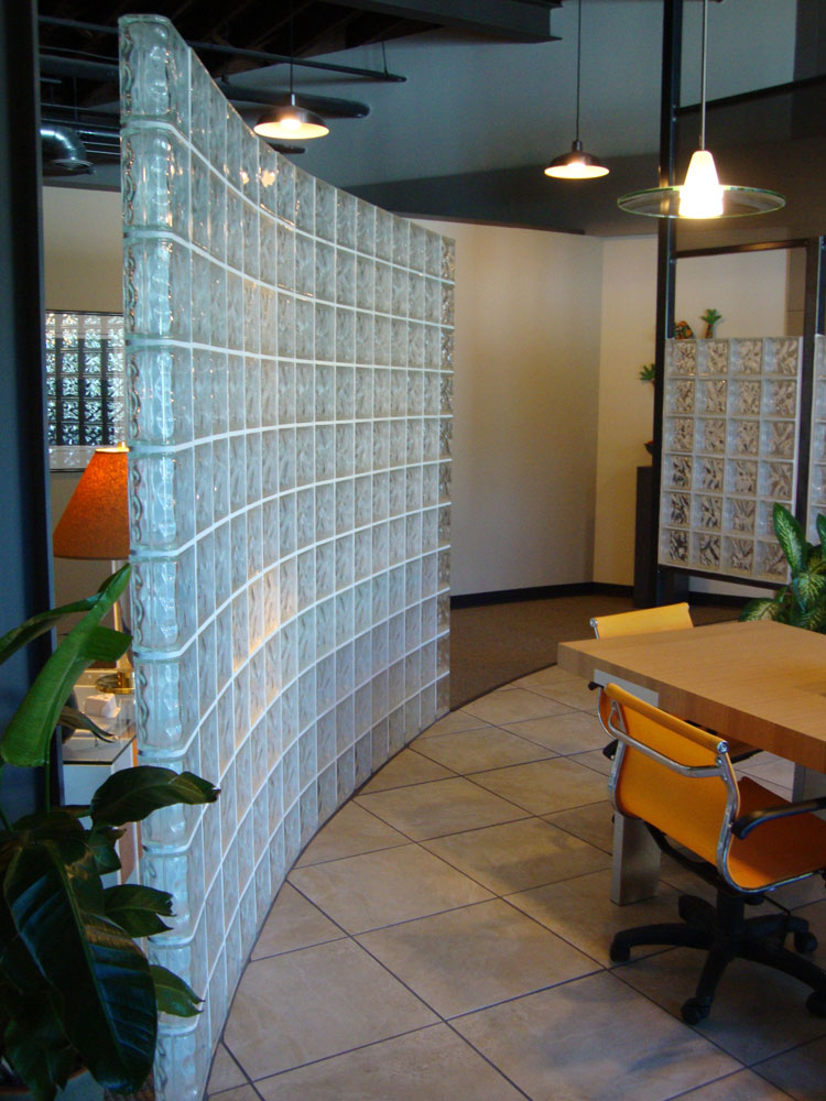 Commercial Glass Block Wall Amp Partitions Columbus