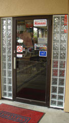 commercial glass block sidelights