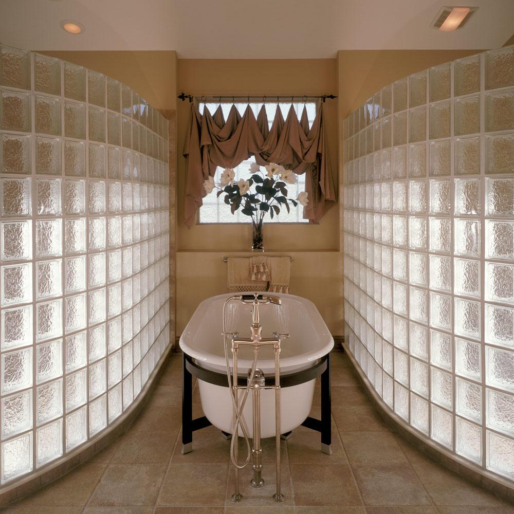 Glass Block Design Ideas For Windows, Walls, Showers