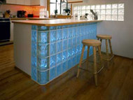 kitchen island bar backlight