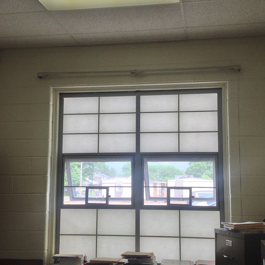 Translucent Replacement Window Panels For Schools