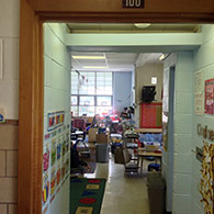 The Kalwall system provides an excellent daylighting system to allow softer light and air flow for students in this Cleveland Ohio elementary school.