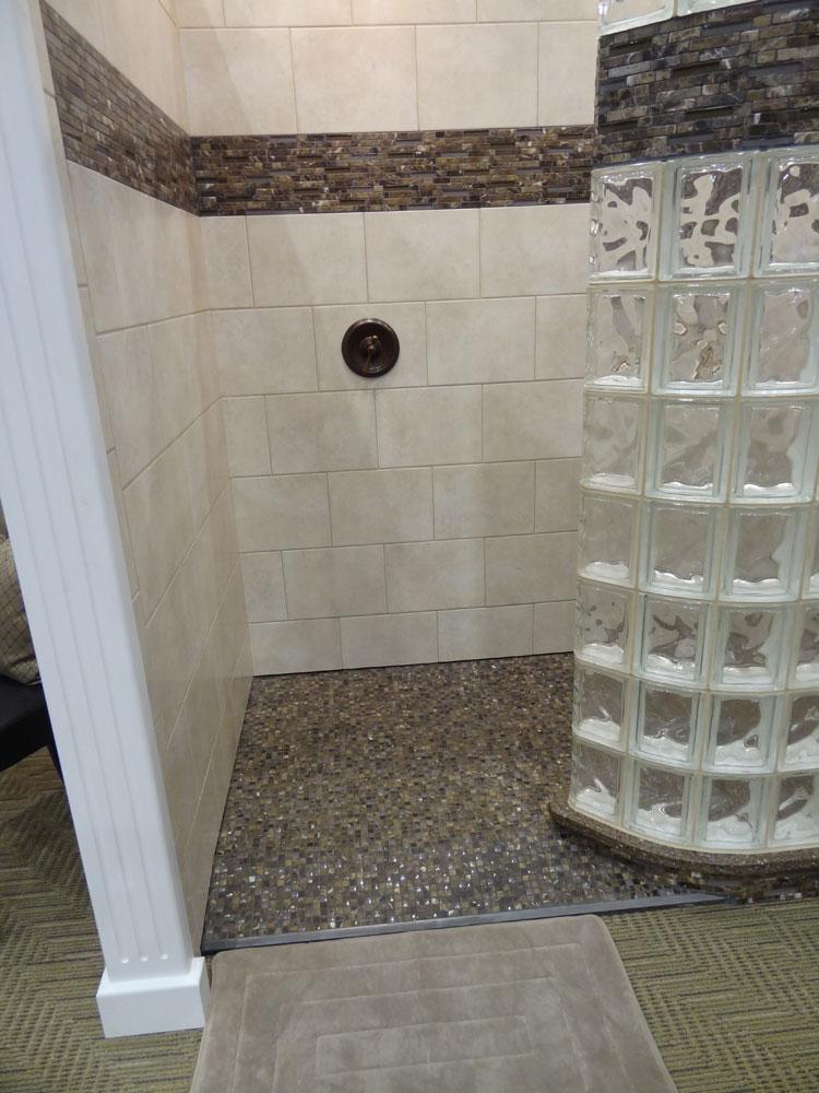 Glass Block Shower Wall Amp Walk In Designs Nationwide