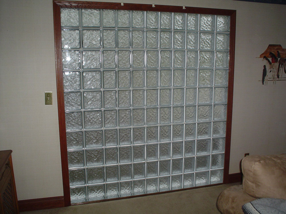 Glass Block Wall And Bar Projects Nationwide Supply
