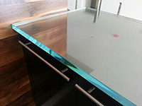 .75 inch ultra clear flat glass