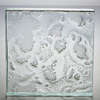 tactile textured cast glass pattern