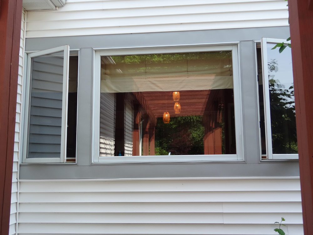 Large picture view windows fixed square window cleveland - Icon exterior building solutions ...