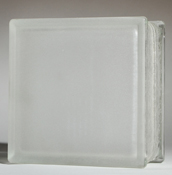 Vue frosted glass block